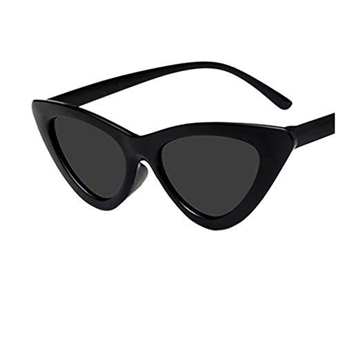 Rosennie Damen Retro Brille Mode Vintage Sonnenbrillen für den Retro Eyewear Look Moderne Katzenaugen Rahmen Sonnebrille Damen Cat Eye Eyewear Sommer Kleiner Rahmen Sunglasses Dünne Brille