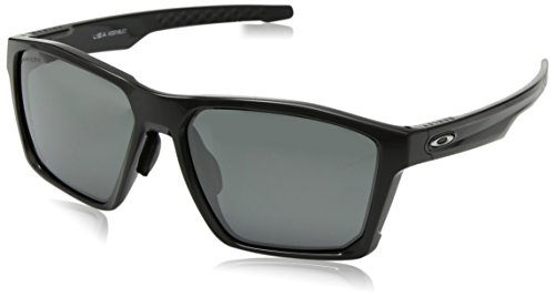 Oakley Men's Targetline (a) Non-Polarized Iridium Square Sunglasses, Carbon, 58.0 mm