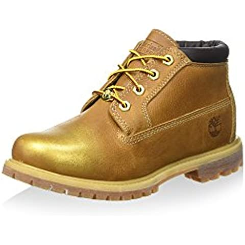 Timberland Nellie Chukka Double Wheat - Botas Track Mujer