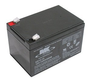 12V 12Ah MK Sealed Lead Acid (AGM) Mobility Scooter Battery