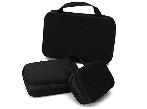Wasserdicht, EVA Tragetasche für GoPro Hero 1 2 3 3 + 4 Xiaomi Yi SJ4000 SJcam, Wasserdicht Schutzhülle Tasche Hülle Gehäuse/Reise-Tasche, Tasche, Zubehör Aufbewahrungsbox, Extra Regenschutz Camcorder Outdoor Heavy Duty Hülle, spritzwassergeschützt, mit doppeltem Schutz, einfacher Zugriff wasserabweisend Befestigung mit shock-Foam Interior Digital