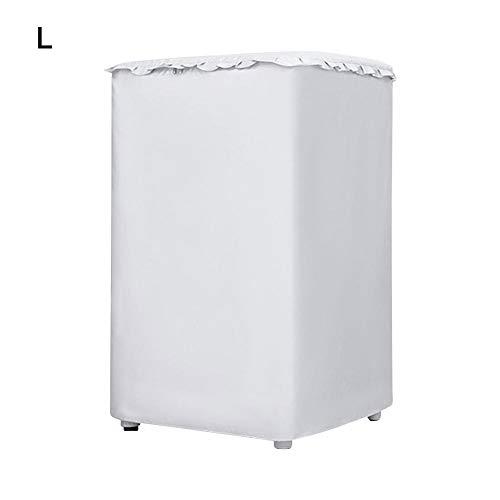 Dedeka Housse Machine à Laver, Couvercle de laveuse/sécheuse, Cache Anti-poussière Automatique pour écran Solaire, Convient à la Plupart des laveuses/sécheuses
