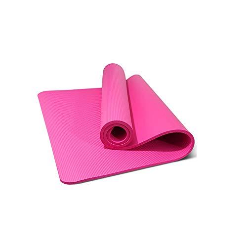 HIAO Rutschfeste Yogamatte Trage Es Mit Dir Spitze Rucksack Umweltschutz 15 Mm Geschmacklos Feuchtigkeitsfest Langlebig Leichtgewicht Sport Fitness 80 cm Breit (Farbe : Rosa)