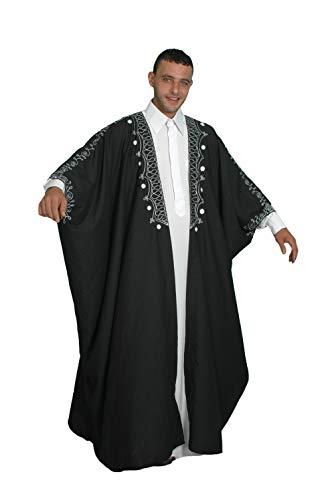 Egypt Bazar Kaftan-Umhang Einheitsgröße: S bis 5XL, - Für Erwachsenen Arabische Kostüm