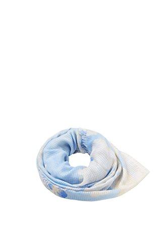 ESPRIT Accessoires Damen 038EA1Q022 Schal, Blau (Light Blue 440), One Size (Herstellergröße: 1SIZE) Light Blue Schal