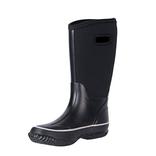 WTW Womens Winter Snow Neoprene Rain Boots