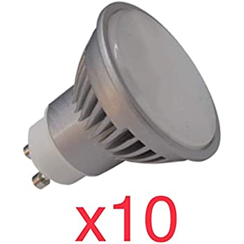 LA) GU10 LED 8,5w Potentisima! Halogeno LED 950 lumenes reales ...