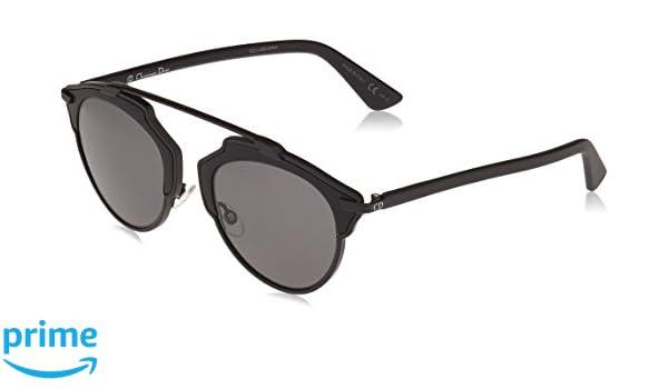 Christian Dior Damen Sonnenbrille Diorsoreal LY Rls, Schwarz (Matte Black/Grey), 48