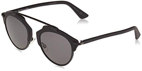 Dior Damen DIORSOREAL LY RLS 48 Sonnenbrille, Schwarz (Matte Black/Grey),