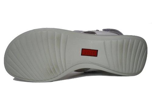 Le petit muck-franzi chaussures des chaussures pour enfants, sandales pour fille Blanc - Blanc