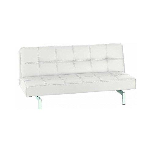 KITKAY sofá Cama Clic-clac Polipiel Blanco