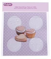 culpitt-cupcake-decoracion-textura-esteras-encaje-corazones