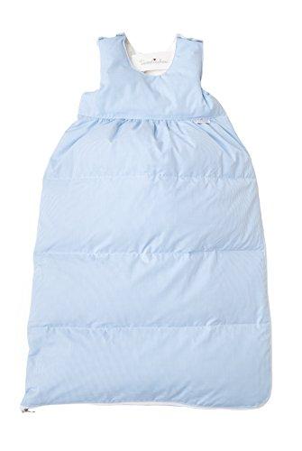 """Tavolinchen Babyschlafsack Daunenschlafsack """"VichyKaro"""" Kinderschlafsack - bleu - 110cm"""
