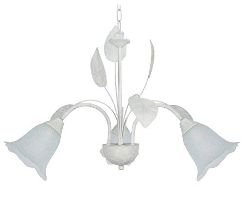 tosel-20930eglantine-lustre-3brazo-chapa-acero-pintura-epoxi-vidriera-blanco-encalado-600x-800mm