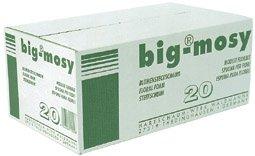 BIG MOSY Steckschaum, 20 Ziegel a 23x11x8cm, Nasssteckschaum, Blumen, Steckziegel, Steckschwamm