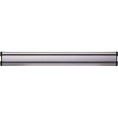 Zeller 24571 Magnetleiste, Aluminium, ca. 46,5 x 4,5 x 1,9 cm (Küche Messer Magnetleiste)