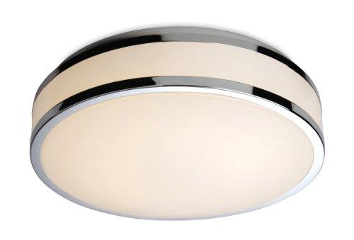 firstlight-176-x-white-led-s-12-watt-850-lm-ip44-atlantis-led-flush-fitting-diffuser-with-chrome-tri