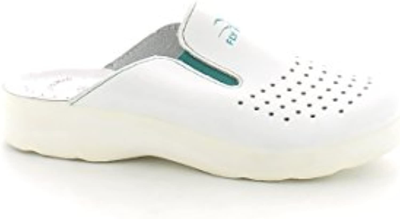Fly Flot - Zapatillas de estar por casa para mujer blanco Bianco