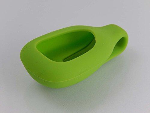 vhbw Ersatz Klemme Clip-Halter grün für Fitness-Tracker Fitbit Zip