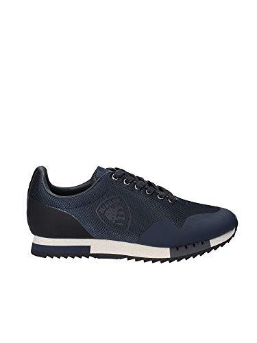 Blauer USA Herren Sneaker Schuhe Detroit dunkel blau Navy
