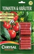 Chrysal Tomaten und Kräuter Düngestäbchen