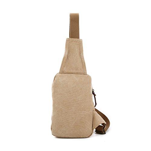 ... Bulage Pack Fresco Uomo Borse Petto Borse Tela Borsa Casuale Spalla  Studenti Esterno Sport Moda Leggero ... 36218c88078