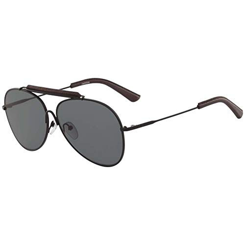 Calvin Klein Herren Ck18100S 1 Sonnenbrille, Schwarz, 60