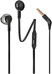 JBL earbuds Wired Headphone T205 - Black