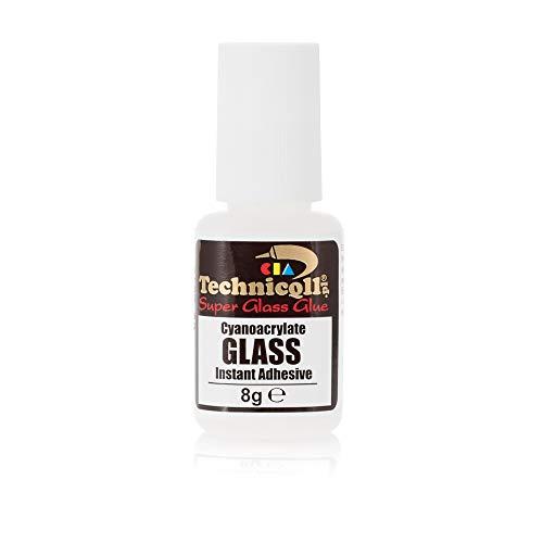 Super Glue Special Glass 8g Colla cianoacrilica extra forte istantanea Riparazione di Vetro Cristallo Pietra preziosa