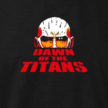 TEXLAB - Dawn of the Titans - Damen T-Shirt Marine