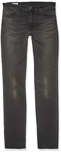 Levi's Men's 511 FIT Headed East Slim Jeans, Grey 2091, 36W/30L -