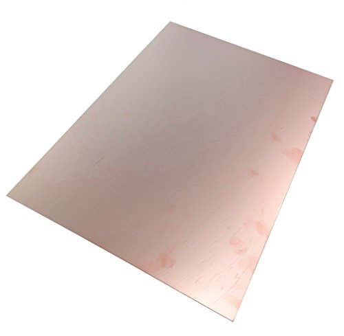AERZETIX Platte aus Kupfer für Leiterplatte 420/297/1 mm Epoxidharz C40565