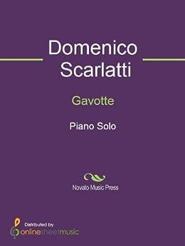 Gavotte by [Domenico Scarlatti]