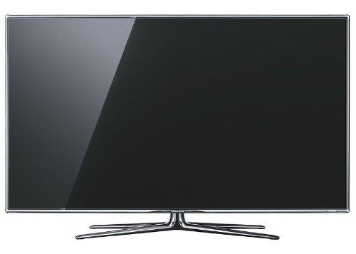 Samsung UE55D8090 138 cm (55 Zoll) 3D-LED-Fernseher, Energieeffizienzklasse A (Full-HD, 800Hz, DVB-T/C/S2 Tuner, HDMI, VGA) silber