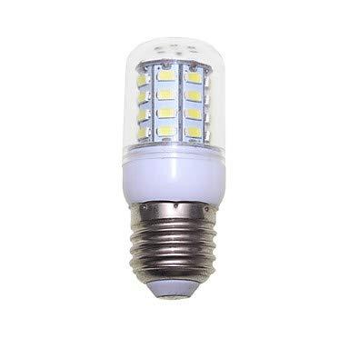 SENCART 1pc 3W 300lm E14 / G9 / GU10 LED Mais-Birnen T 40 LED-Perlen SMD 5730 Dekorativ Warmes Weiß/Kühles Weiß 220-240V / 110-120V (Farbe : Transparent, Connector : GU10-Warmes Weiß-1-100-120V)