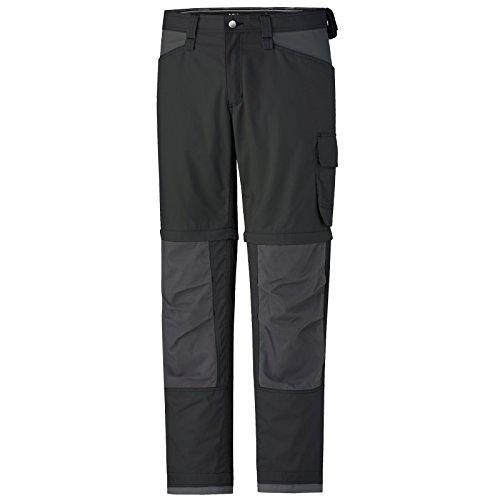 Zip Abnehmbare (Helly Hansen Workwear Arbeitshose San Diego Zip Off Pant Berufshose mit abnehmbaren Hosenbeinen, Größe 48, schwarz, 76453)