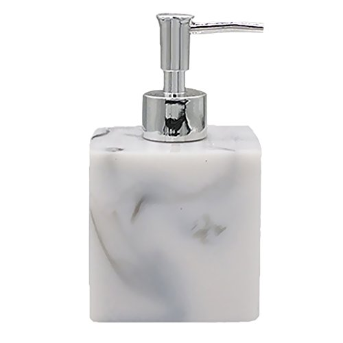 MagiDeal Stylish FOAMER Soap Dispenser Lids w/ Pump for Home Hotel Office Bathroom - Marble Color, 8.5×7.8×15cm