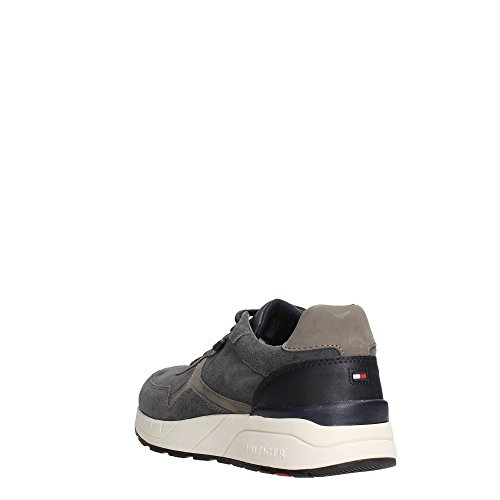Tommy Hilfiger Fm56821601 Sneakers Uomo Magnet