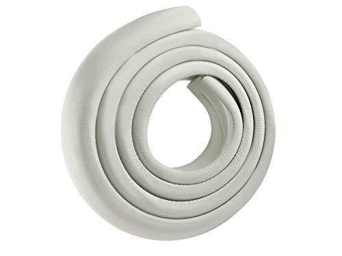 Iso Trade Kantenschutz 2m Eckenschutz Klebeand Kinderschutz Möbel Sicherheit Baby weiß schwarz braun 2675, Farbe:Weiß (Baby-möbel Weiß)