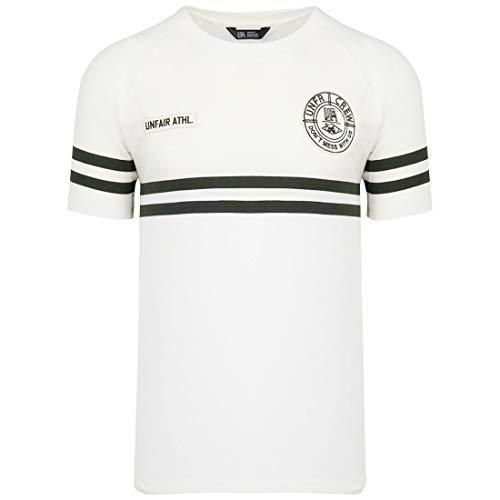 Unfair Athletics DMWU Pique Tennis T-Shirt Herren weiß/schwarz, XXL - Pique-tennis-shirt
