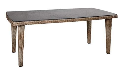 Wholesaler GmbH LC Garden Gartentisch 160 x 90 cm Vigo Dining Natur