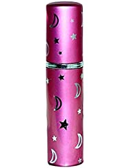 Parfum Taschenzerstäuber Serie 5 im Metallic-Look rosa - 5 ml