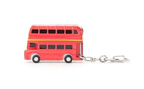 Kikkerland Schlüsselbund Doppeldecker Bus