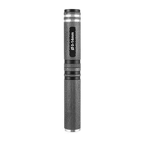 Negro Azul 0-14mm Acero Agujero Sierra abridor Perforadora