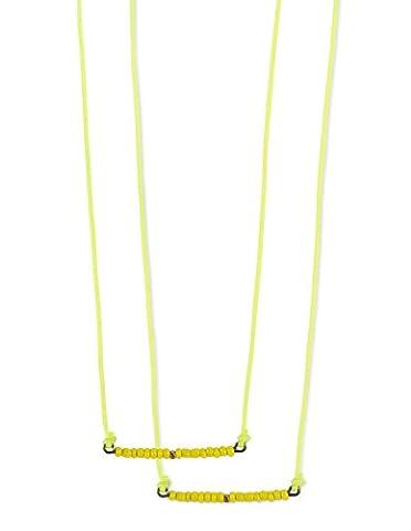 Gocco Mädchen Stirnband gelb Einheitsgröße