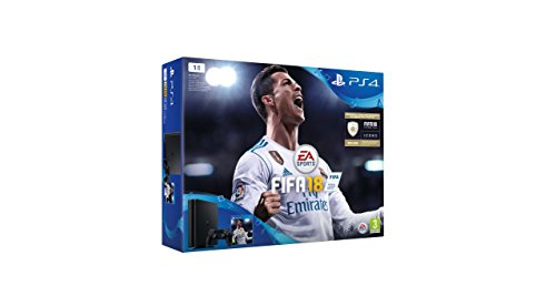 PlayStation 4 (PS4) - Consola de 1 TB + FIFA18 [Bundle] [Importación italiana]