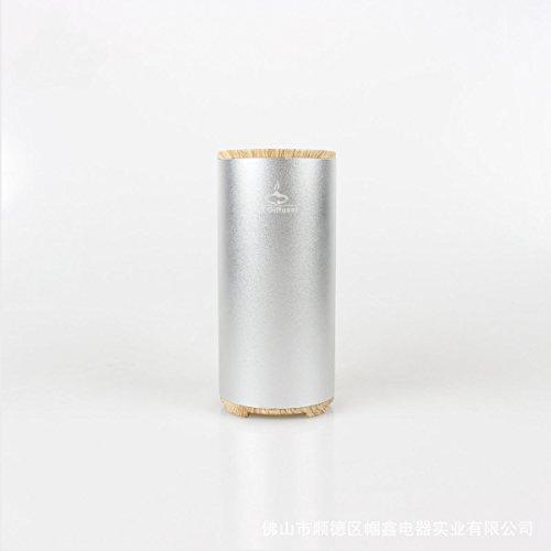 2000-luftreiniger (Elektrische Lebensdauer Mini-USB-Lade Bewegliche Auto-PM2.5 Auto Luftreiniger Universal-Großbritannien Und Europa,2000MA-Silver)