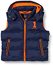 Hackett London Hooded Gilet B Chaqueta para Niños