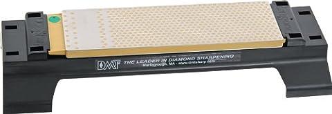 DMT WM8EF-WB 8-Inch Extra Fine/Fine DuoSharp Plus Bench Stone with Base - Grey