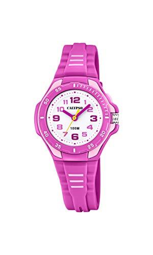 Calypso Bar (Calypso Watches Unisex Kinder Analog Quarz Uhr mit Plastik Armband K5757/3)